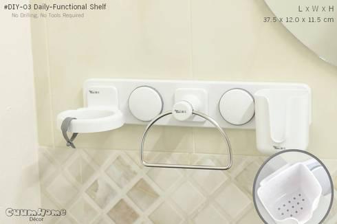 DIY03 ชั้นวางของอุปกรณ์ประจำวัน:   by Square Group Co.,Ltd.