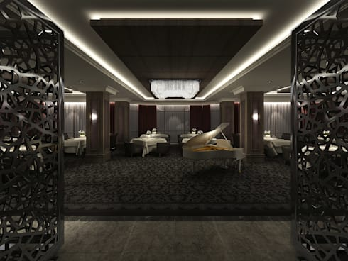South Tower Hotel:  Walls by Key Invest Interior Designer Istanbul