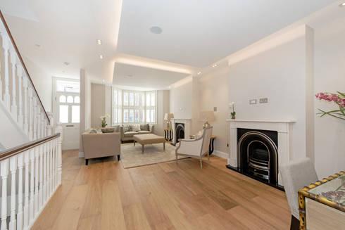 House Renovation Lysia Street, Fulham SW6: modern Living room by APT Renovation Ltd