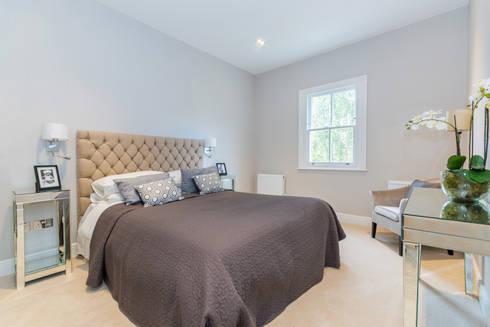 House Renovation Lysia Street, Fulham SW6: modern Bedroom by APT Renovation Ltd