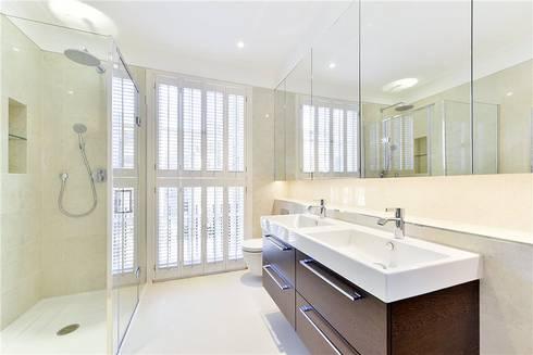 Halsey Street SW3: modern Bathroom by APT Renovation Ltd