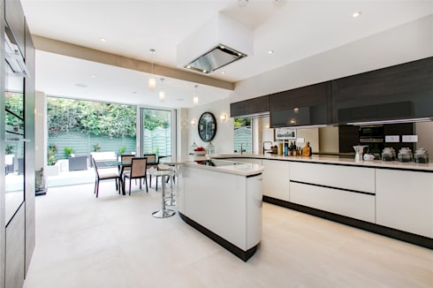Perrymead Street, SW6: modern Dining room by APT Renovation Ltd