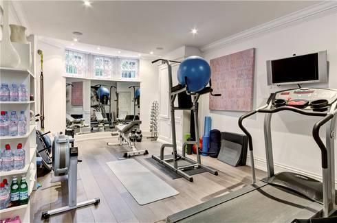 Trebovir Road, SW5: modern Gym by APT Renovation Ltd