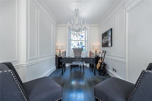 Victoria Square, London SW1W: modern Living room by APT Renovation Ltd