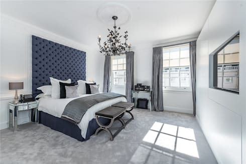 Victoria Square, London SW1W: modern Bedroom by APT Renovation Ltd