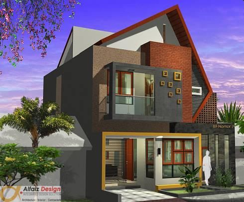 Rumah Jatiwaringin:  Rumah by Alfaiz Design