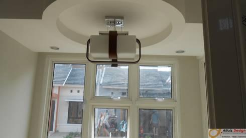 plafond:  Ruang Makan by Alfaiz Design