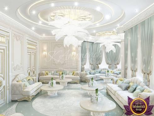   Majlis interior design ideas by Katrina Antonovich: classic Living room by Luxury Antonovich Design