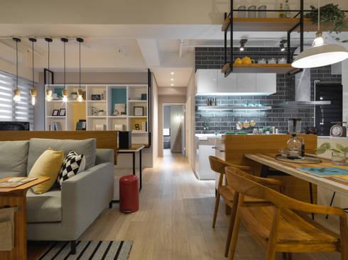 餐廳:  廚房 by 存果空間設計有限公司