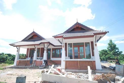 บ้านพักอาศัย คสล.1 ชั้น:   by หจก.ชโยโฮม