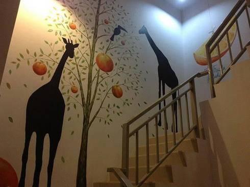 อยากเเต่งบ้าน เเต่งร้าน เเต่งผนัง ทาสีก็ยังไม่โดน!! ติดวอลล์เปเปอร์ก็ยังไม่ใช่!! :   by The paint job