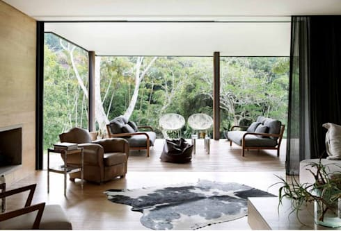 House Cowies Hill: modern Living room by Ferguson Architects