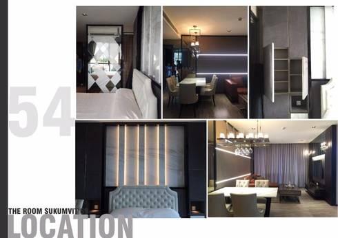 THE ROOM SUKHUMVIT 69 (STYLE LUXURY):   by Future Interior Design Co.,Ltd.