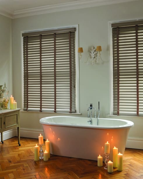 Bathroom by English Blinds