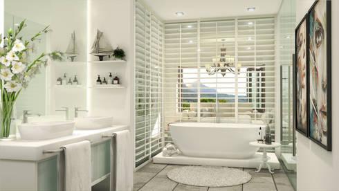 Constantia Development: modern Bathroom by Modo