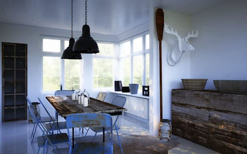 Kitchen Remodel: country Kitchen by Modo