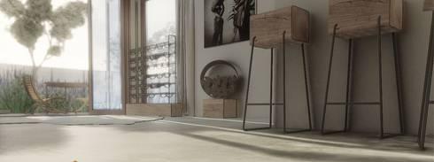 House de Jongh: industrial Living room by Modo