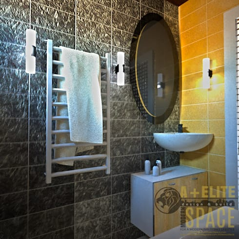 Pineda Residence: modern Bathroom by A+Elite