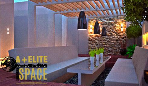 Pineda Residence: mediterranean Garden by A+Elite