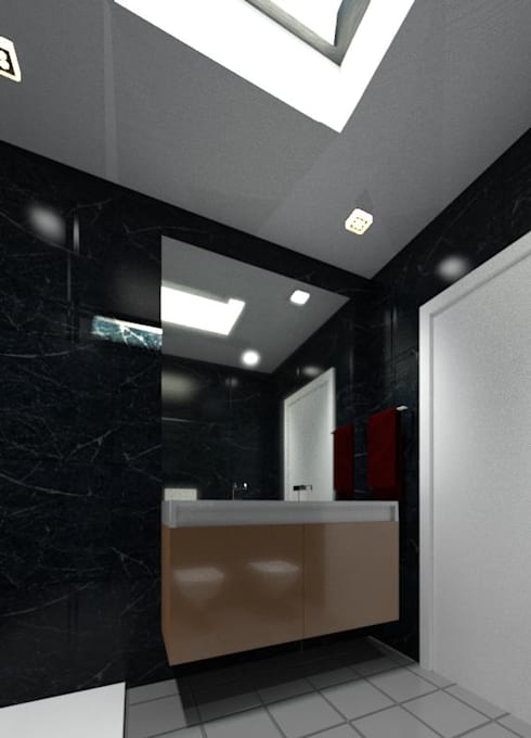 浴室 by André Terleira - Arquitectura e Construção