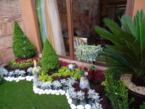 Paisajismo muros verdes jardines por 3hous homify - Paisajismo jardines pequenos ...