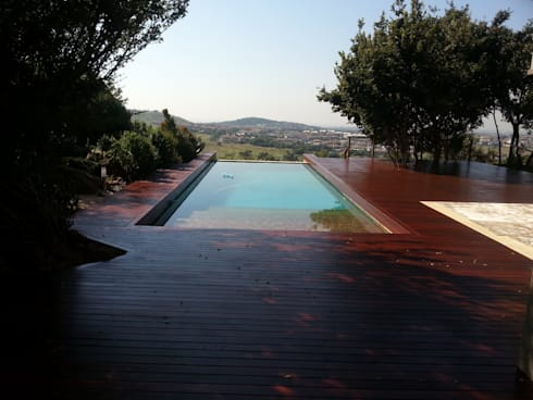 Timber and composite decking in and around Johannesburg.:   by DORSETT DECKING