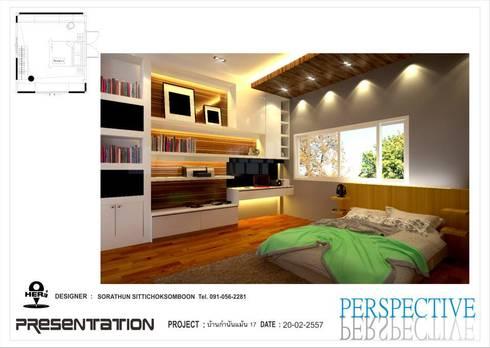 ห้องนอน 2:   by ็HERE DESIGN