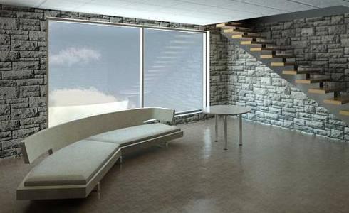 Vivienda en Bogotá:  de estilo  por Jaime A Torres Estudio de arquitectura