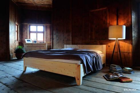 Massivholzbetten  LIGNUM Möbelmanufaktur: Massivholzbetten | homify