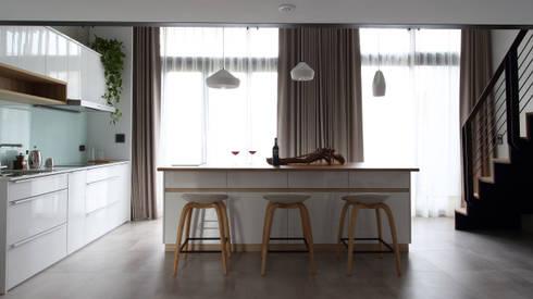 03:  廚房 by 樂沐室內設計有限公司