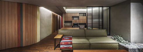 08:  書房/辦公室 by 樂沐室內設計有限公司