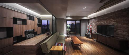 02:  客廳 by 樂沐室內設計有限公司