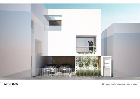 BS-HOUSE:   by FATTSTUDIO ARCHITECT Co.,Ltd
