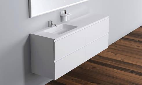 Copenhagen  Bath - Malmö Unterschrank: skandinavische Badezimmer von Copenhagen Bath