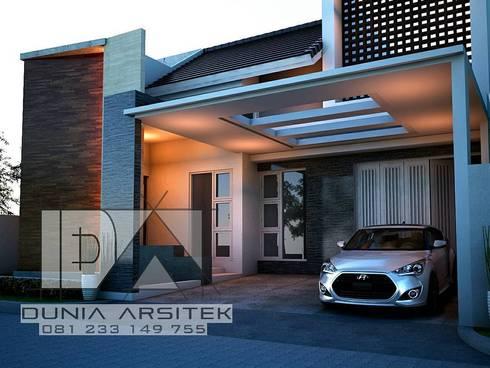 Rumah Minimalis:   by Dunia Arsitek