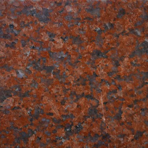 หินแกรนิตแดงอินเดียดอกเล็ก:  บันได โถงทางเดิน ระเบียง by SIAMTAK CO., LTD.