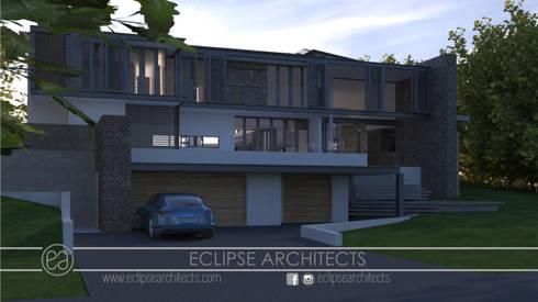 Goshawk Street: modern Houses by Eclipse Architects