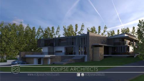 Goshwak Street: modern Houses by Eclipse Architects