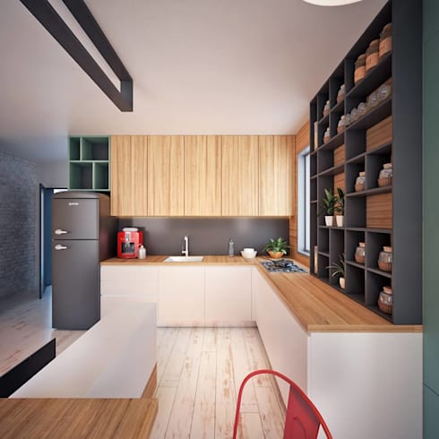 Hang Hau Residential Project: modern Living room by CLOUD9 DESIGN