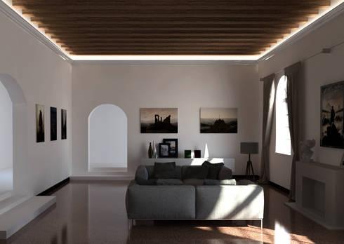 Cornici per luce diffusa tra parete e soffitto di eleni - Cornici ufficio ...