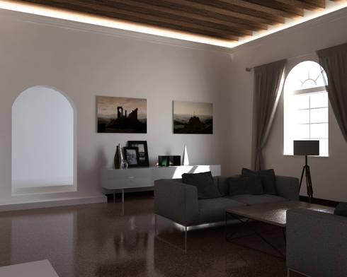 cornici per luce diffusa tra parete e soffitto di eleni lighting ... - Veletta Cartongesso Soggiorno