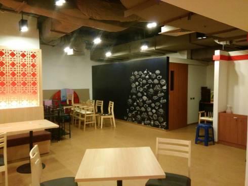Panda King:  พื้นและกำแพง by C&M