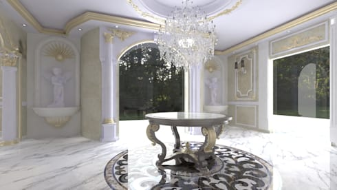 Decoration :  تصميم مساحات داخلية تنفيذ Hydra Construction