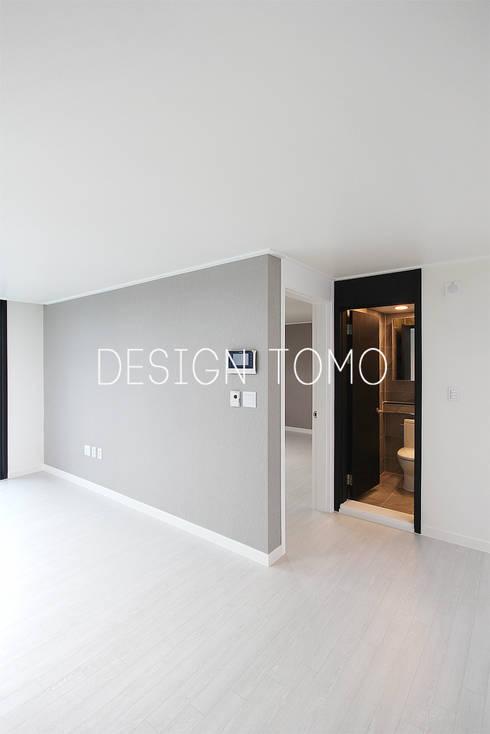 modern Living room by 디자인토모