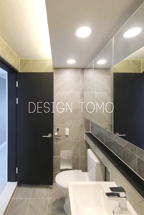 Bathroom by 디자인토모