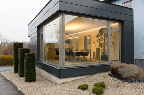 Außenansicht Konferenzraum: Bürogebäude Von Alegroo   Interior Design