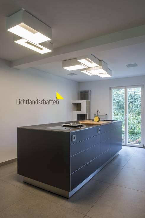 kchenlampe moderne kche von lichtlandschaften - Schlafzimmer Lichtgestaltung