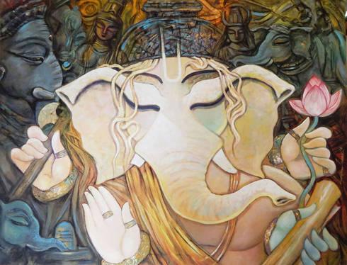 Bhuwanpati:  Artwork by Indian Art Ideas