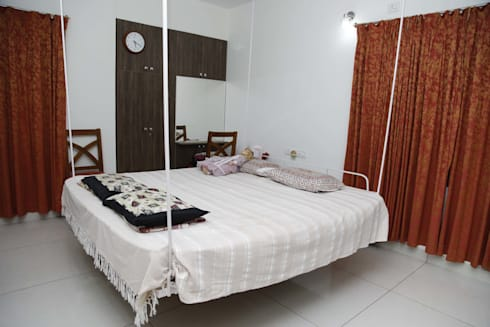 Modern Bedroom Furniture Sets In India: asian Bedroom by Scale Inch Pvt. Ltd.