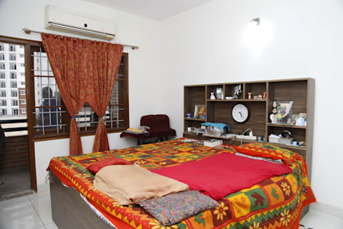 Bedroom Sets Online: asian Bedroom by Scale Inch Pvt. Ltd.